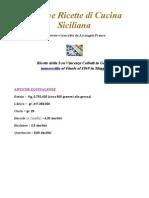 (eBook - Ita - Cucina) Cucina Siciliana Antiche Ricette