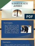 MODALIDADES DE ACTO JURIDICO LA CONDICION.pptx