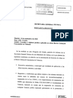 Informe - Abogacia Del Estado 16-09-2010
