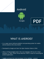 My Presentation on Android History