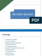 Ab Initio Session1