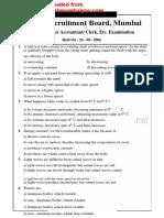 RRB question paper