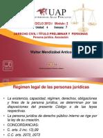 7 Persona Jurídica. Asociación Derecho Civil I