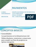 GENERALIDADES DE LOS PAVIMENTOS