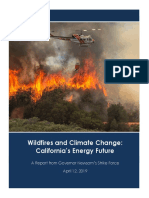 Wildfires and Climate Change California's Energy Future