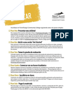 Boulder Enrollment Checklist Spanish