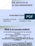 embedded system power point presentation