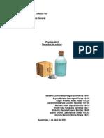 Encontrar densidad de solidos