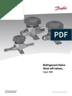 Danfoss ShutOffvalve Catalog