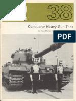AFV Profile 038 - Conqueror Heavy Gun Tank