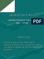 Trabajo de Parto - Dr Vásquez