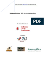Training Manual - GIS and Remote Sensing