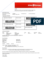 Lion Air ETicket (YXWWBH) - Heriyawan