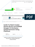 Guide to Flash Condor Plume P6 Pro Lte PGN528 Nougat 7