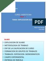 Exposicion Agrotecnia Clase 1,2 3