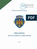Procedura de Management Al Riscurilor