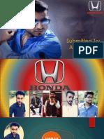 marketing Honda