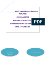 Assignment (Big Data) EFAZ Ahmad