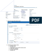 Oracle Fusion User and Roles Creation
