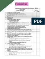 Daftar Tilik Pemeriksaan Dalam Dan Penilaian Panggul Dalam Persalinan