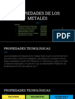 Propiedades de Los Metales - Grupo 3 Final