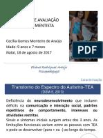 Devolutiva de Avaliação Desenvolvimentista Cecília Ago 2017