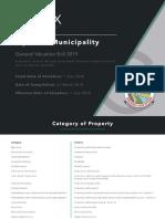 Mpofana Municipality General Valuation Roll - 31 March 2019
