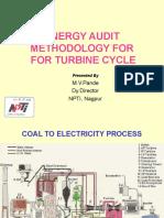 Energy Audit- Turbine Cycle