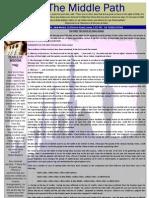 """Al-Jalal Masjid """"The Middle Path"""" November 2010 Newsletter"""
