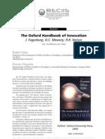 Resenhas the Oxford Handbook of Innovation