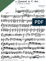 Boccherini Quintet 2 C Major Vl2