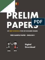 Exam18 ICSE Sample Paper English Language 1
