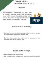 Workmen's Compensartion Act