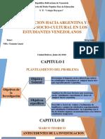 La Emigracion Hacia Argentina y Su Impacto Socio Cultural