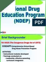 NDEP Presentation-OK Sa DepEd