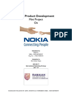 24667478 New Product Development of Nokia