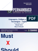 MODAL VERB MUST X SHOULD.ppt