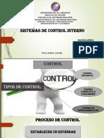 Sistemas de Control Interno. Diapositivas
