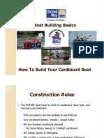 Cardboard Boat Building 101 Update