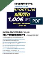 33 LIVROS DE DIREITO  -  ATUALIZADOS (2018 - 2019).pdf