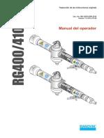 Afiladora RG400 410 Manual Ver1.0 SPA 141028