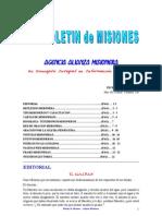 BOLETIN DE MISIONES 01-11-10
