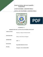 Horizontes de Las Finanzas Internacionales