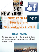 humans of ny and stereotypes slides