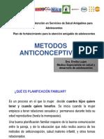 METODOS ANTICONCEPTIVOS