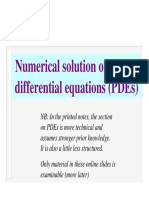 Partial Differentiation Equation_PDE