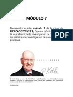 Modulo 7 Mkt