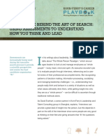 The Science Behind the Art of Search- Using Assessments to Understand How You Think and Lead