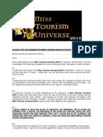 MTU 2018 Entry Form