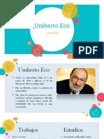 Umberto Eco Semiótica